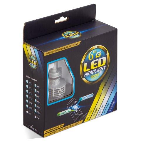 Набор светодиодного головного света UP-6HL (H7, 3000 лм) Превью 2