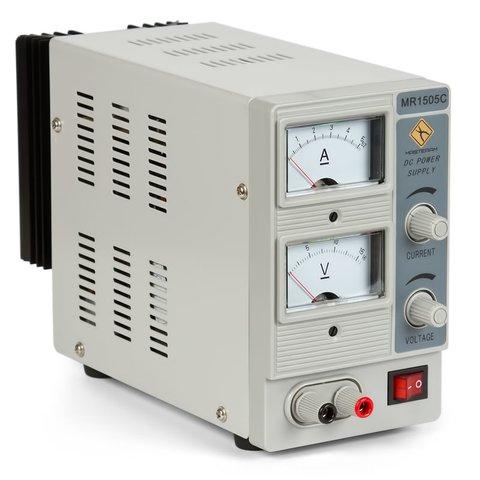 Лабораторний блок живлення Masteram MR1505C Прев'ю 1