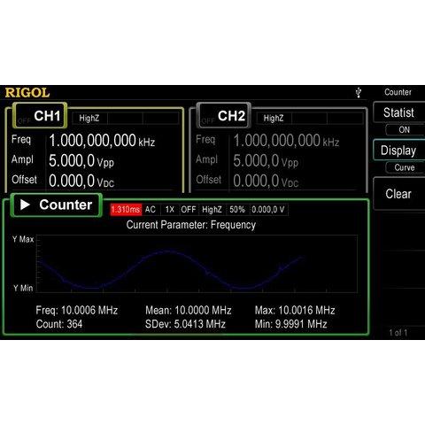 Универсальный генератор сигналов RIGOL DG4062 - Просмотр 9