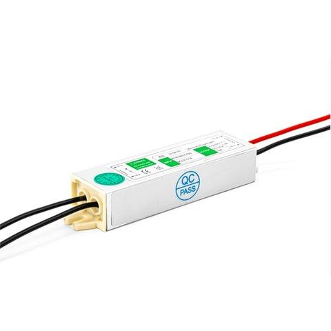 Блок живлення для світлодіодних стрічок 12 В, 12.5 A (150 Вт), 90-250 В, IP67 Прев'ю 2