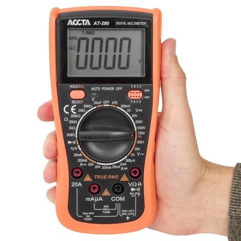 Цифровий мультиметр Accta AT-290 Прев'ю 4