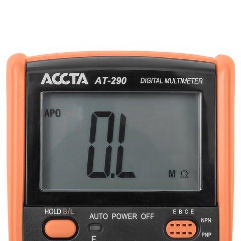 Цифровий мультиметр Accta AT-290 Прев'ю 7