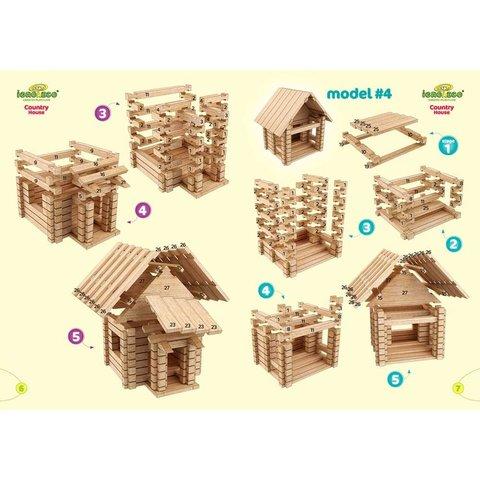 Конструктор IGROTECO Заміський будиночок 4 в 1 - /*Photo|product*/
