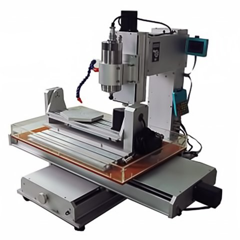 5-axis CNC Router Engraver ChinaCNCzone HY-6040 (2200 W) Preview 4