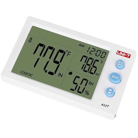 Temperature Humidity Meter UNI-T A12T Preview 3